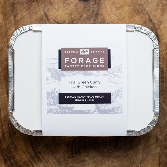 Forage ready meals packaging