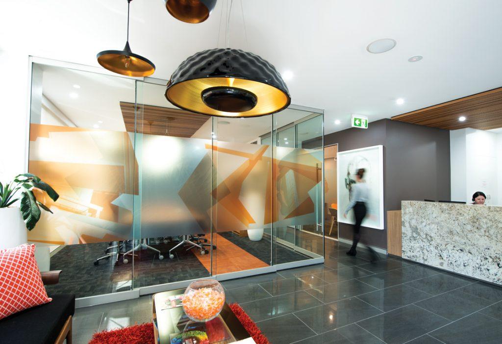 De Luca office interior
