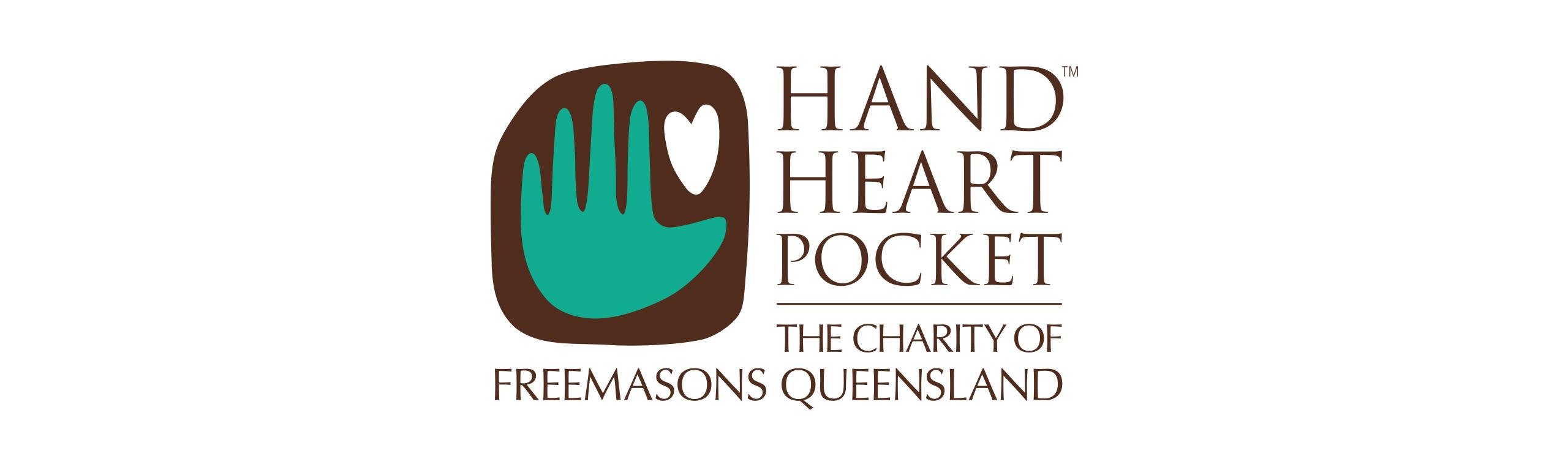 Hand Heart Pocket logo