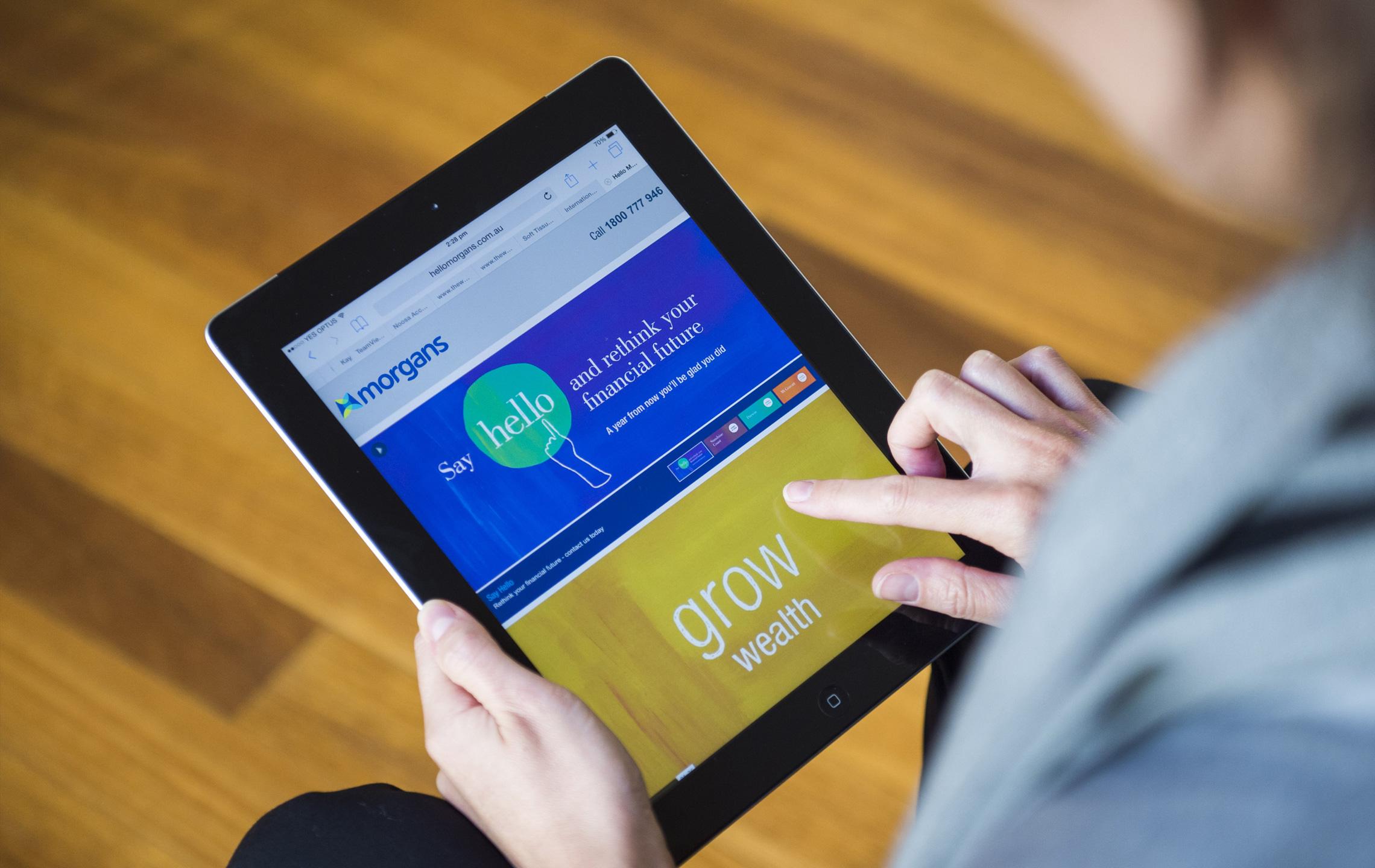 Morgans tablet app