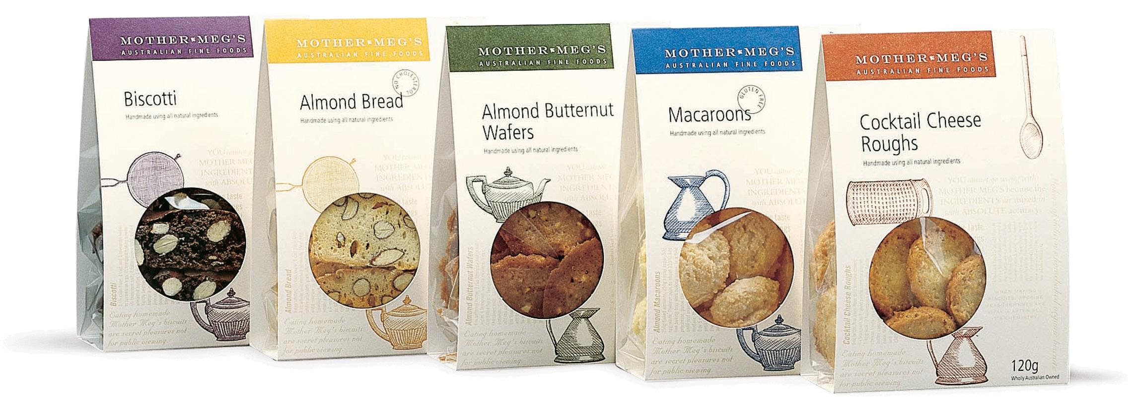Mother Meg's pantry packs