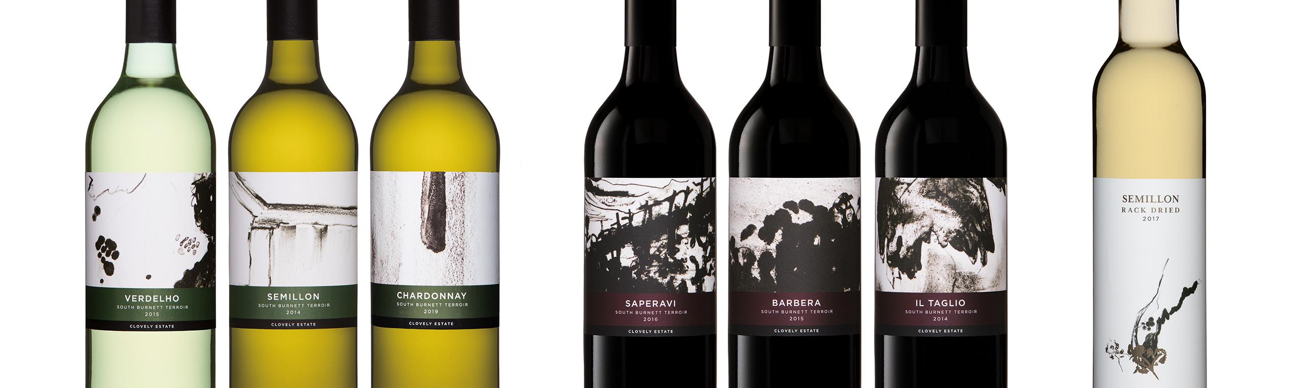 Clovely Estate wine range