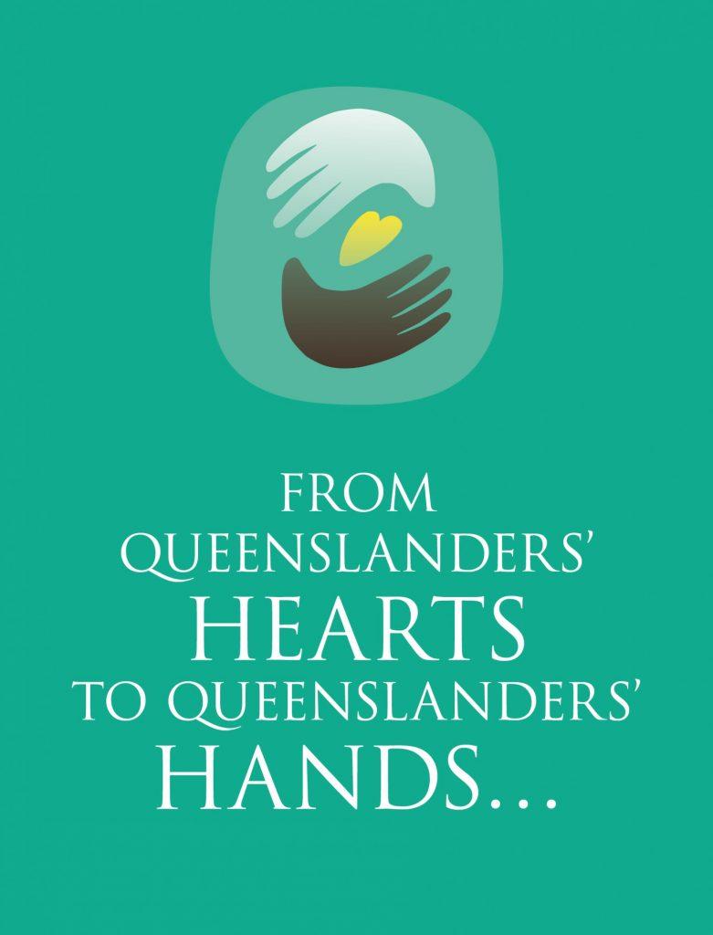 Hand Heart Pocket from Queenslanders' Hearts