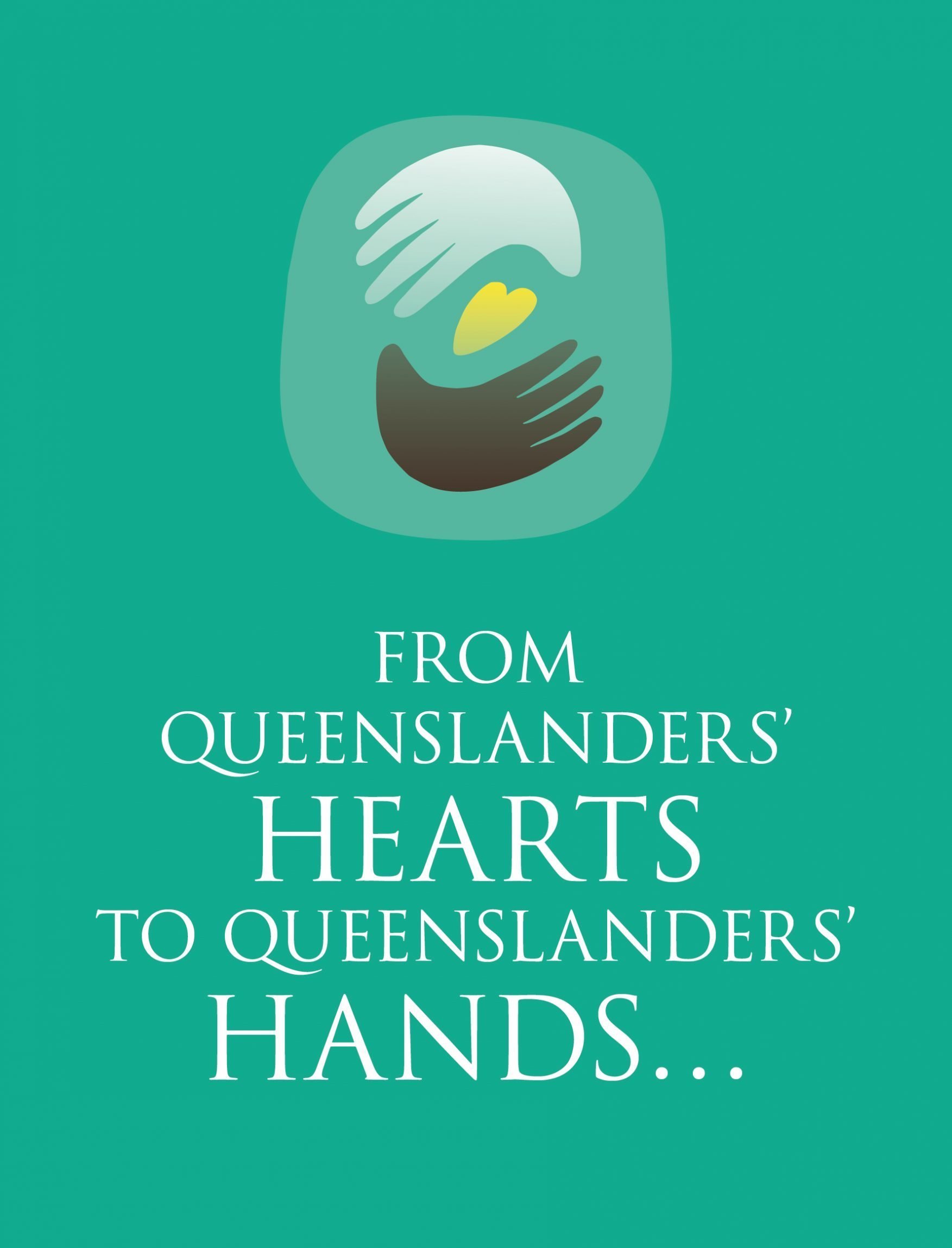 Hand Heart Pocket from Queenslanders' Hearts