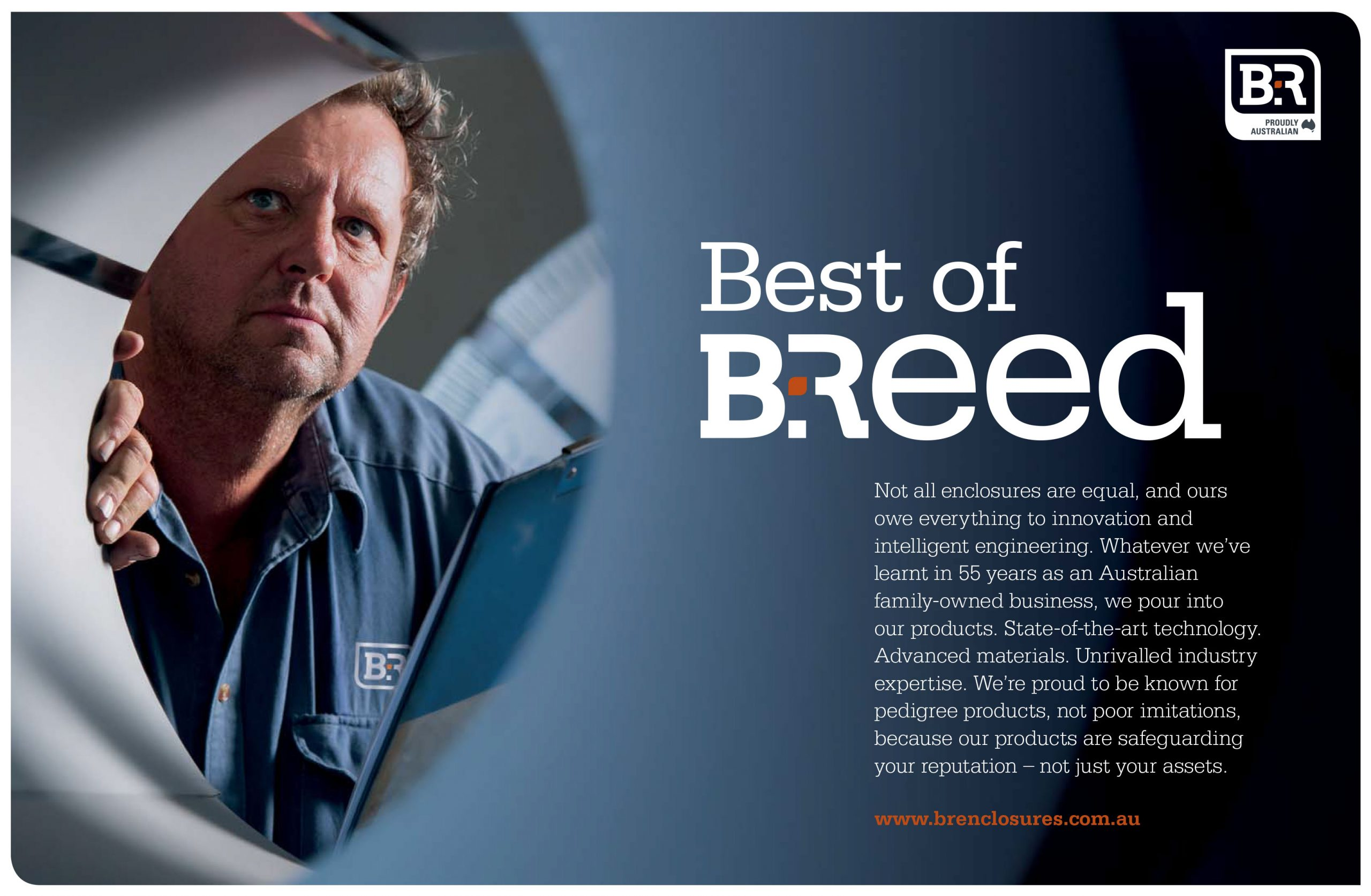 Best of breed B&R poster