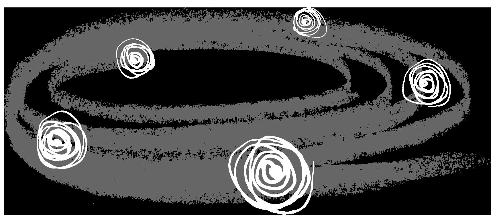 Lloyd Grey brand galaxy illustration