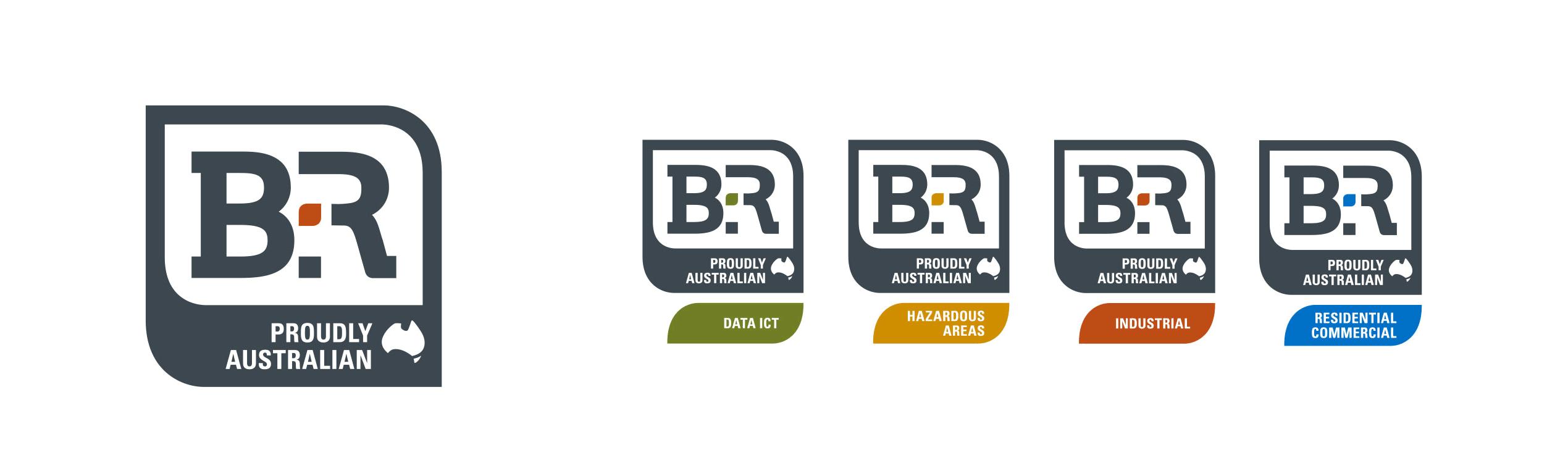 B&R brandmark family